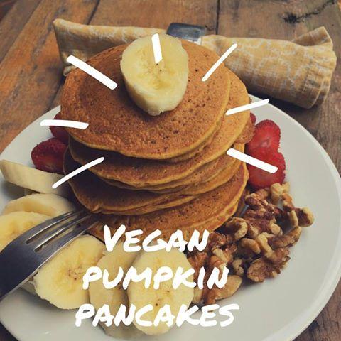 Pumpkin pancakes. Receta de mis pancakes favoritos.