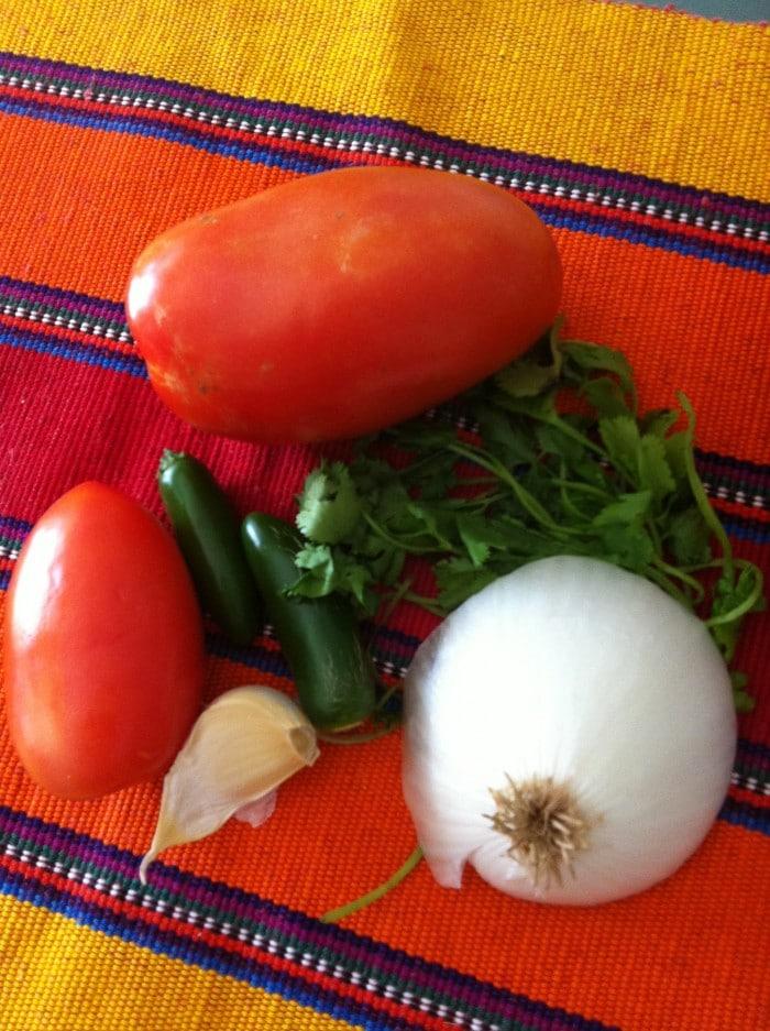 pico de gallo, salsa mexicana, receta de pico de gallo