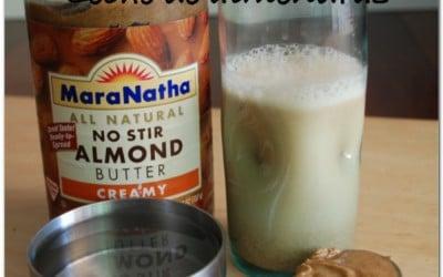 Receta rápida de leche de almendra