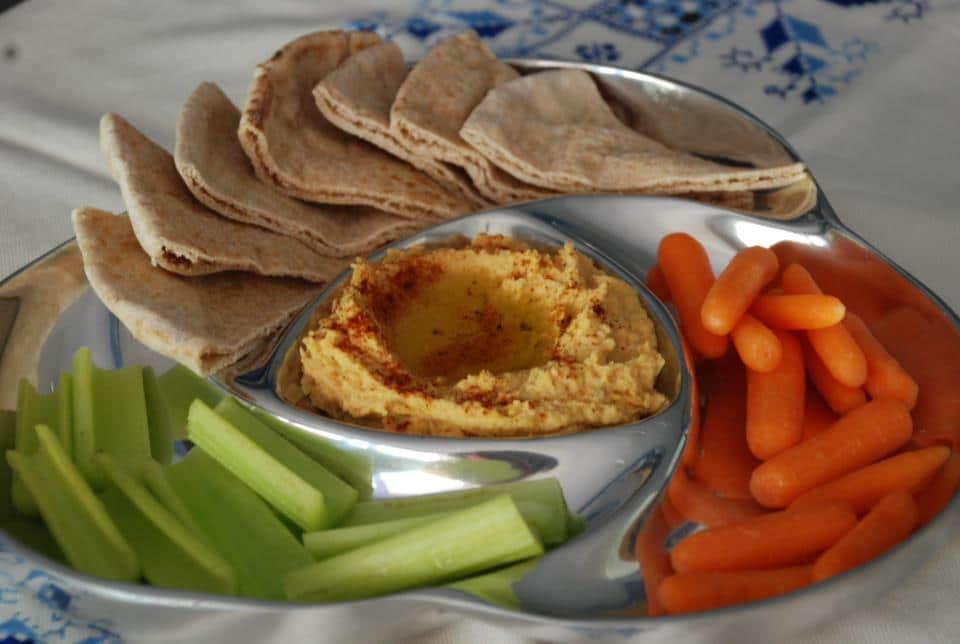 Hummus o crema de garbanzo