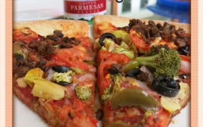 Cómo ordenar una pizza vegana