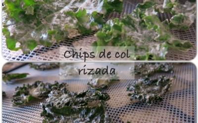 Chips de col rizada