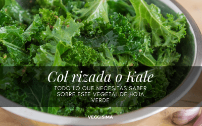 Col rizada o Kale: todo lo que necesitas saber sobre este vegetal verde