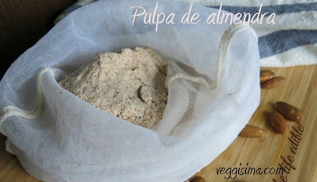 harina de almendra casera, receta de harina de almendra, cómo hacer harina de almendra en casa.
