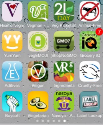 Las 10 aplicaciones gratuitas más populares para veganos