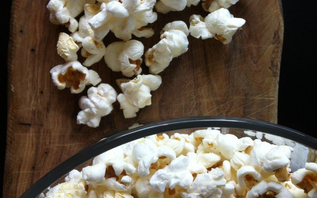 Palomitas de maíz hechas en casa 1