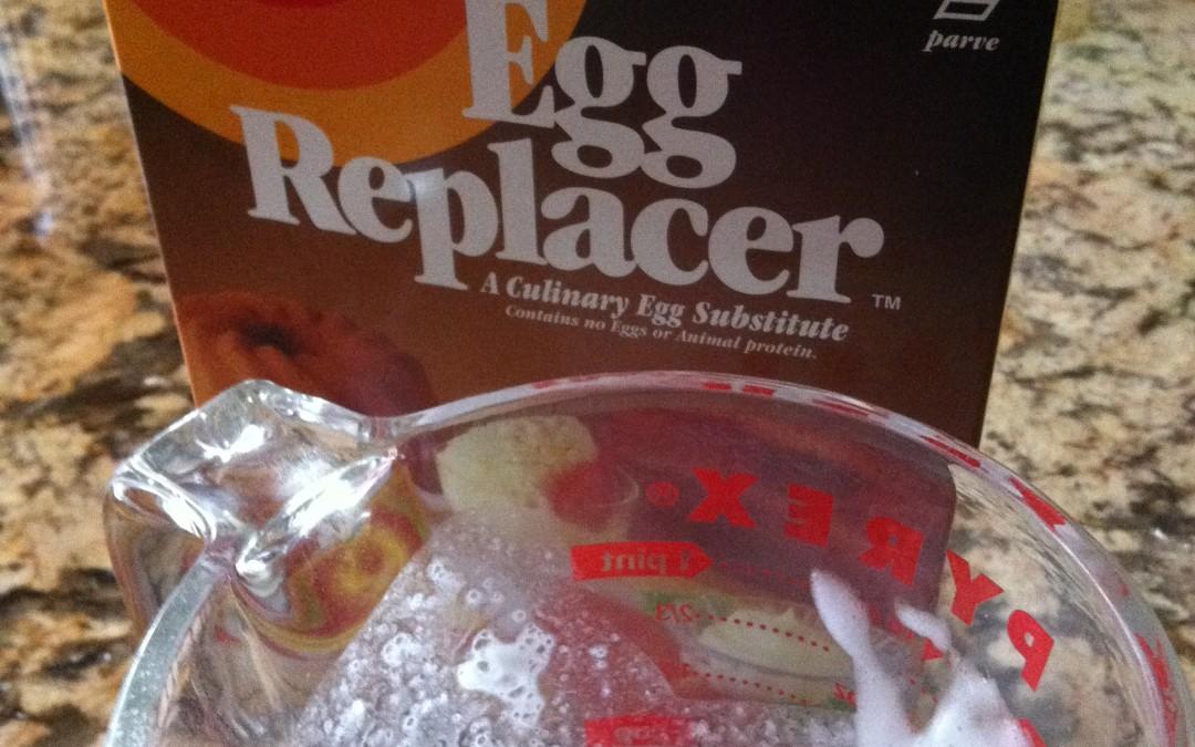 ¿Puedo hornear sin Huevo?