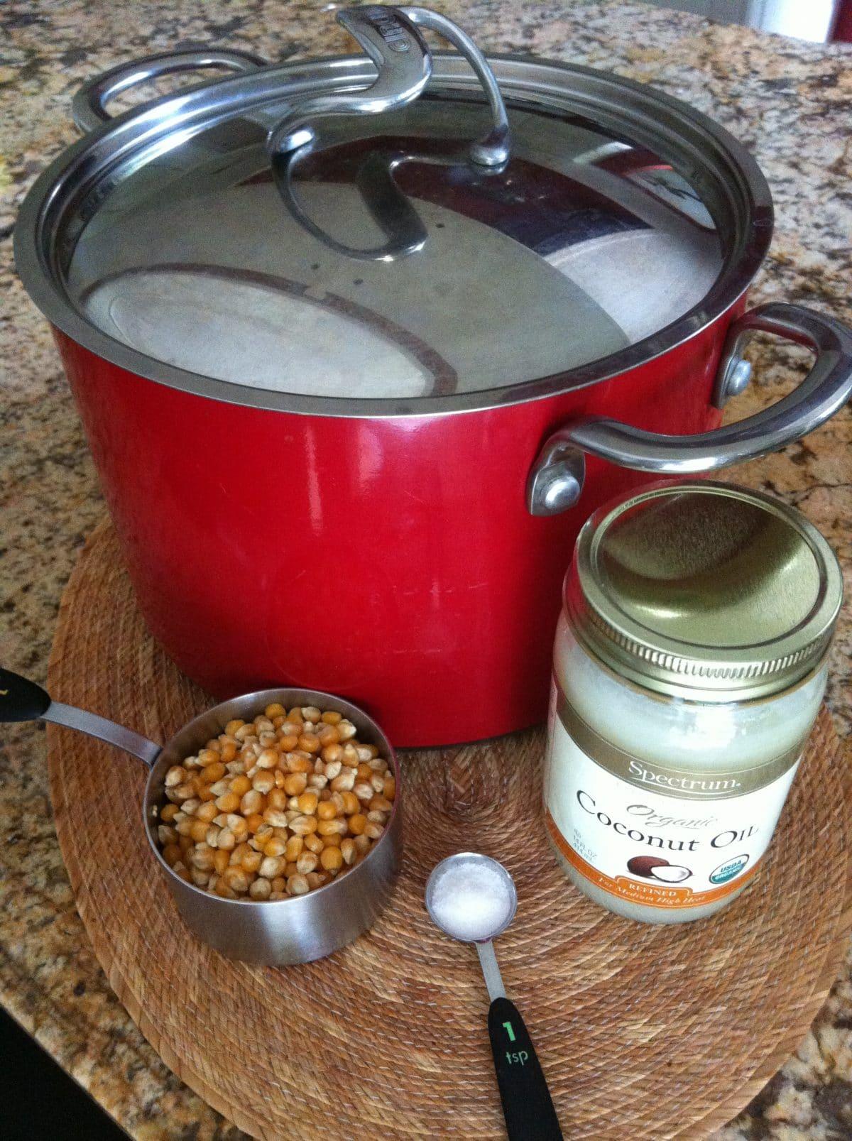 palomitas de maíz, como hacer palomitas de maiz, palomitas, palomitas caseras.