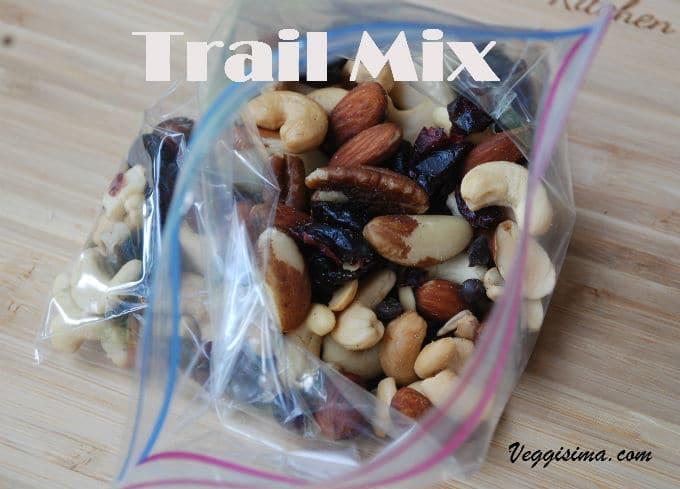 Trail mix- Un Refrigerio Delicioso y Nutritivo