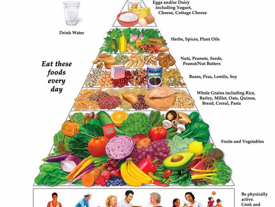 Gráficas útiles para construir un plato saludable