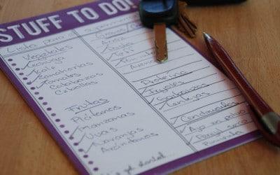 Cómo hacer una lista del super perfecta