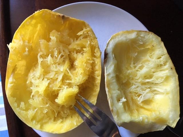 Calabaza espagueti: Cómo cocinarla