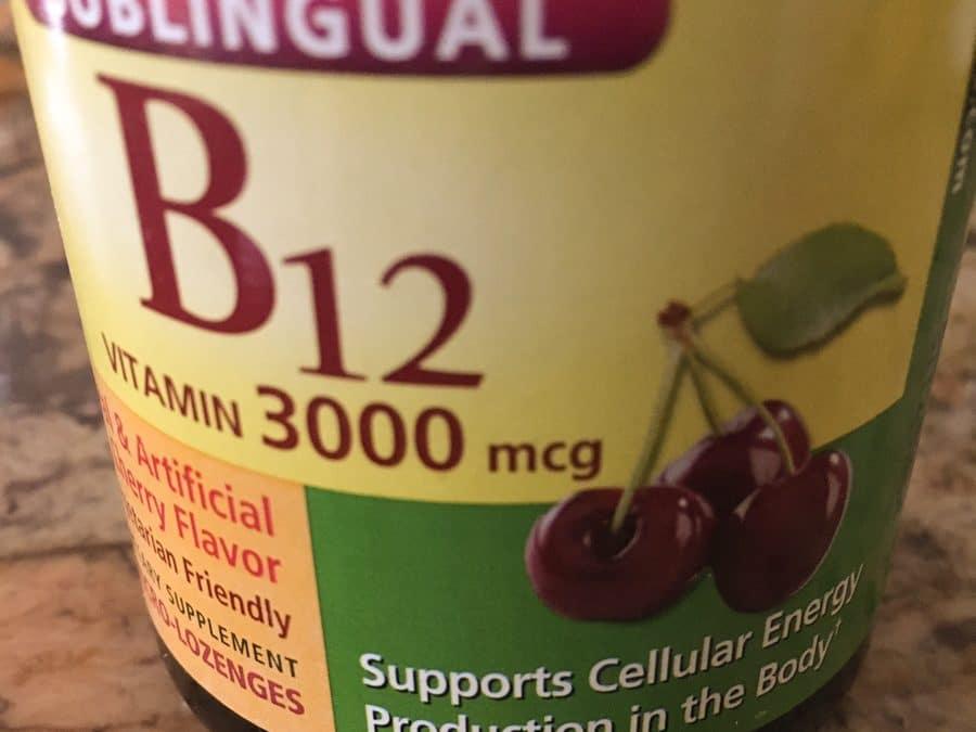 Vitamina B12 en una dieta vegetariana